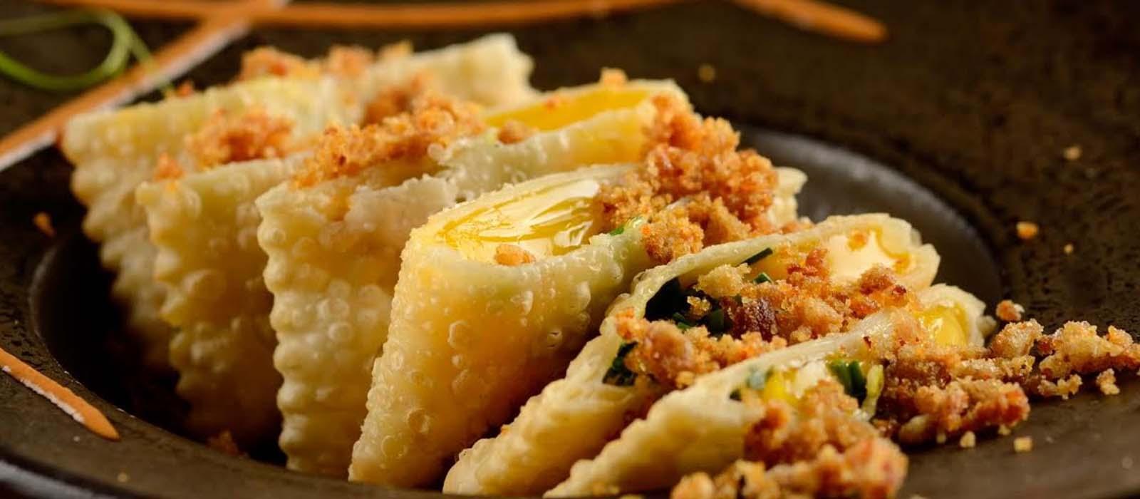 Pastel de Gema de Ovo Perfeito – Restaurante Micaela