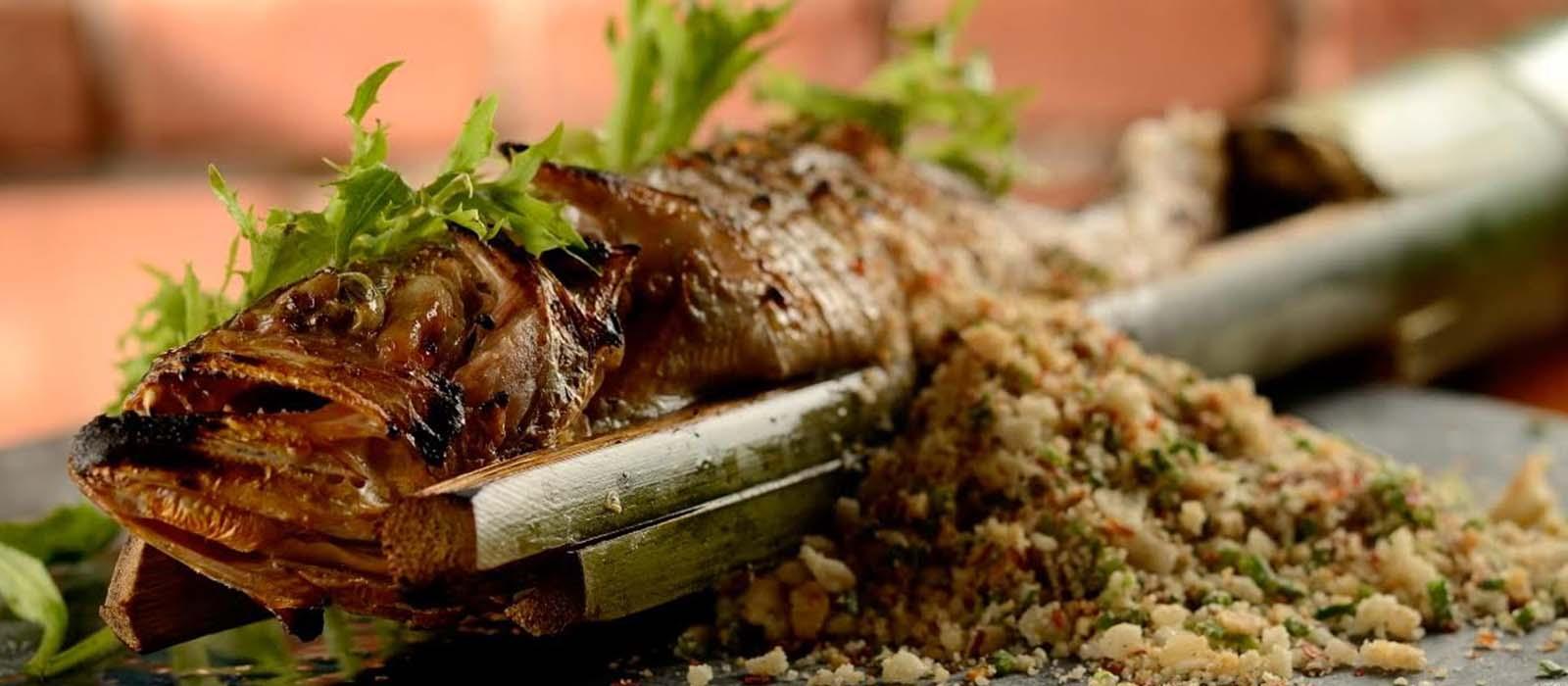 Tainha na Taquara – Restaurante Micaela